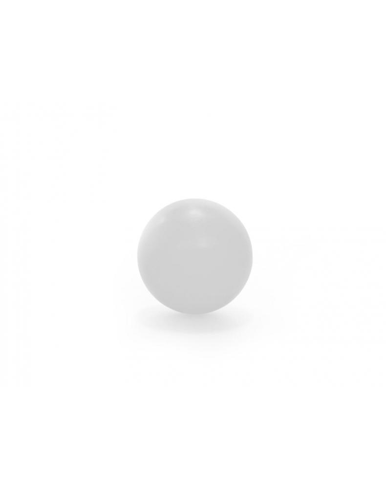 Piłeczka plastikowa biała