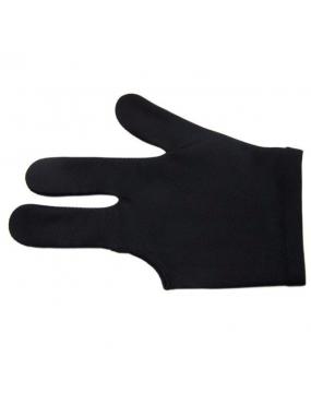 Rękawiczka bilardowa standard 3-palce czarna