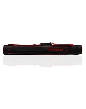Europool New Style Cue Case, Red