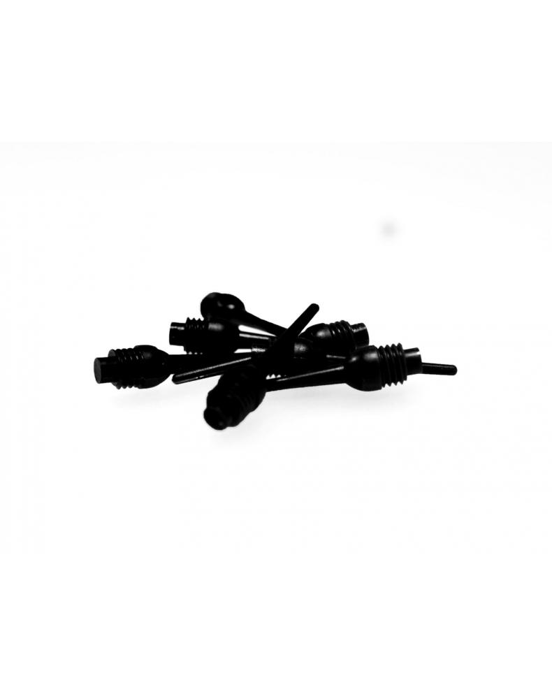 Groty keypoint 1/4 czarne (1000 szt.)