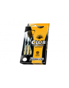 HARROWS rzutka dart CLUB BRASS softip 14g