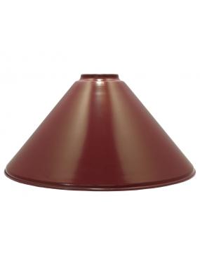Klosz bordowy do lampy bilardowej ELEGANCE