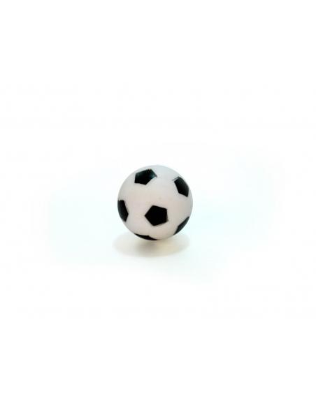 Piłeczka plastikowa czarno-biała do piłkarzyków