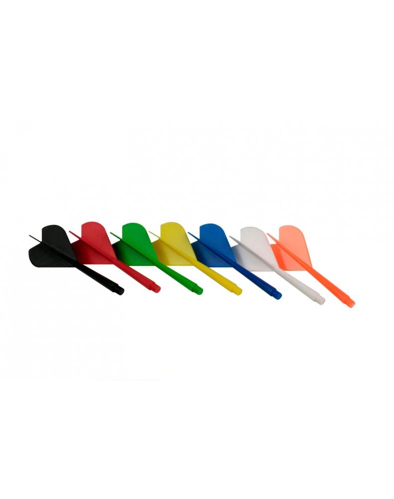 Piórko dart z trzonkiem plastikowym różne kolory