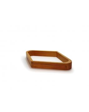 Romb drewniany naturalny