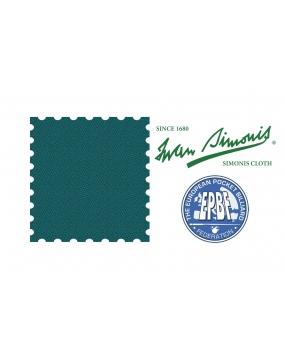 Sukno bilardowe pool SIMONIS 860 165cm  Blue Green