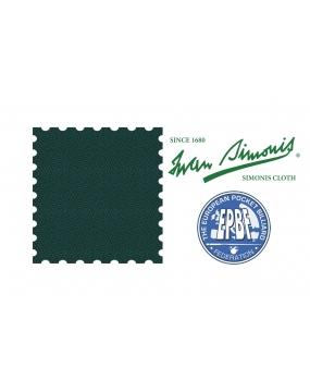 Sukno bilardowe pool SIMONIS 860 198cm  Dark Green