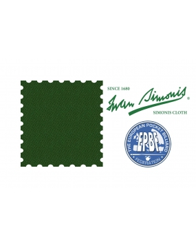 Sukno bilardowe SIMONIS 860 165cm English Green