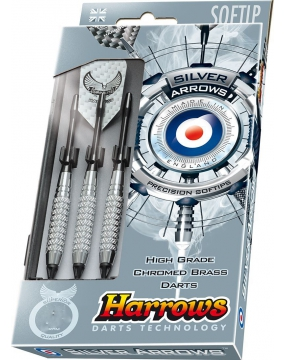 HARROWS rzutka dart SILVER ARROW softip 16g