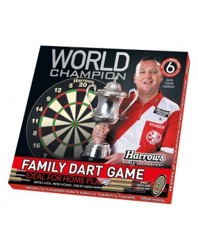 HARROWS tarcza do darta World Champion FAMILY