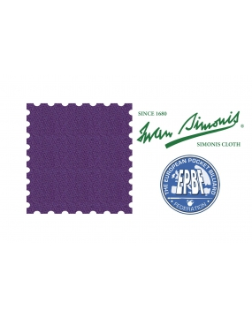 Sukno bilardowe pool SIMONIS 860 198cm - Purple