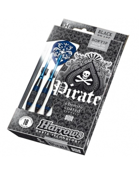HARROWS rzutka dart PIRATE - Niebieskie 16g