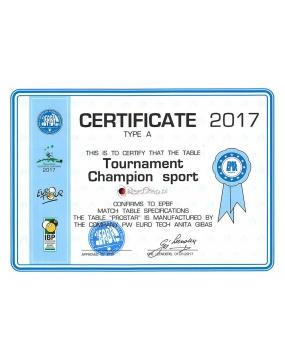 Stół Bilardowy Tournament Champion Sport 9ft Brown
