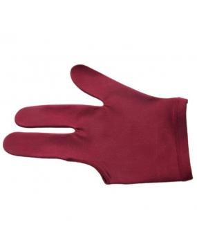 Rękawiczka 3-palce bordo