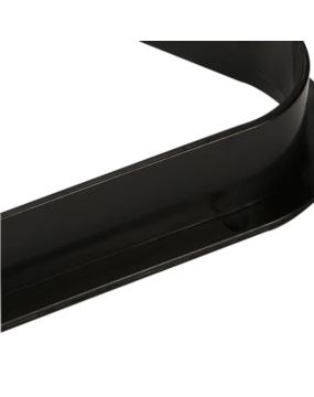 Trójkąt bilardowy plastikowy 57,2 mm czarny