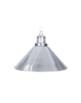Lampa bilardowa ELEGANCE 1 klosz srebrna
