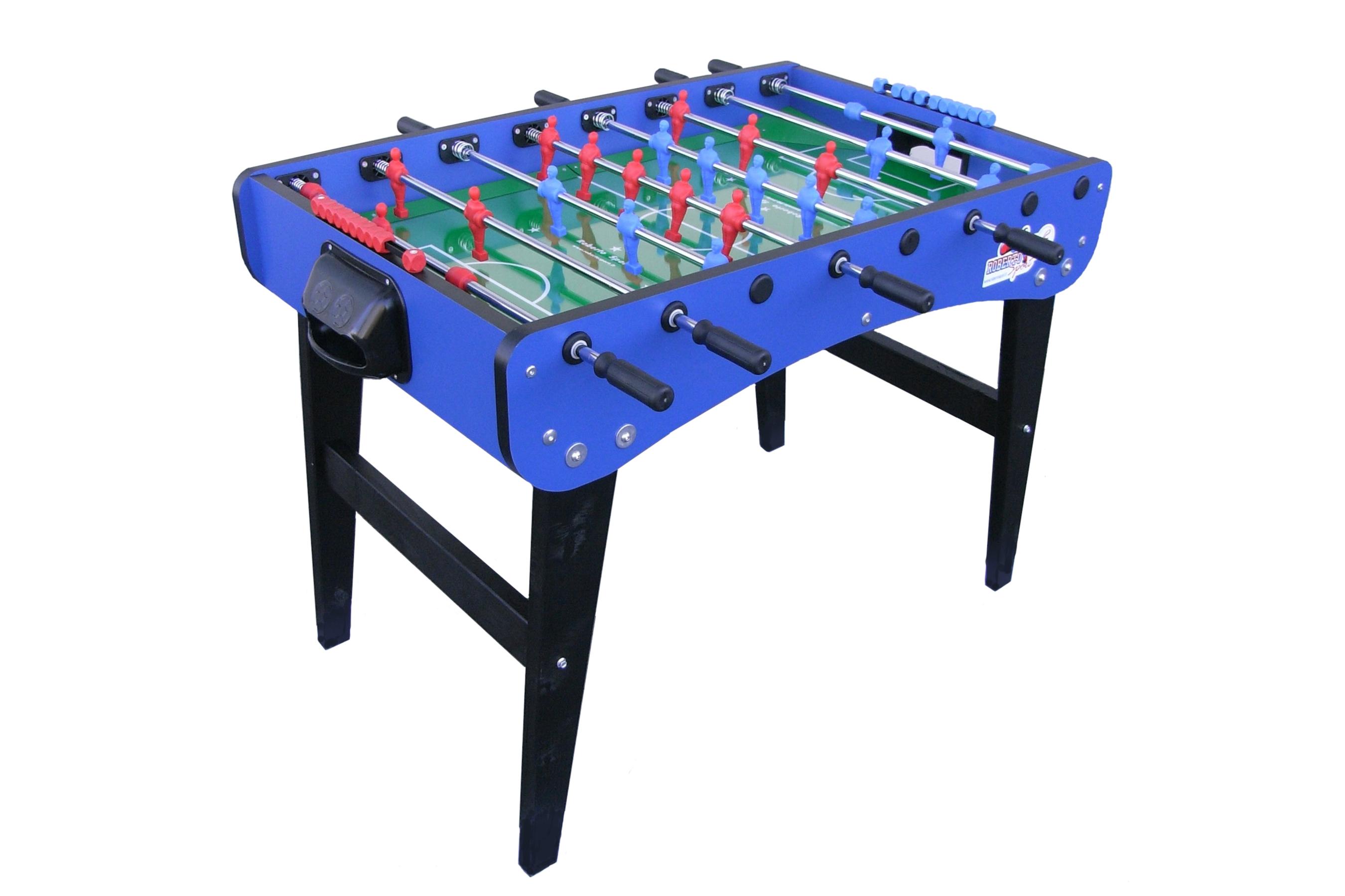 Stół do piłkarzyków Roberto Sport FAMILY Niebieski