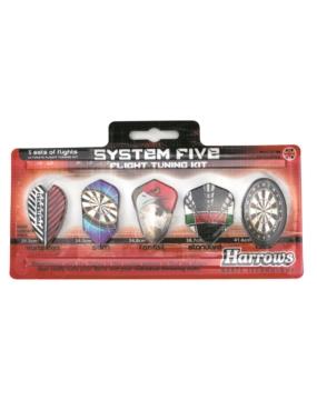 HARROWS piórka dart komplet SYSTEM 5
