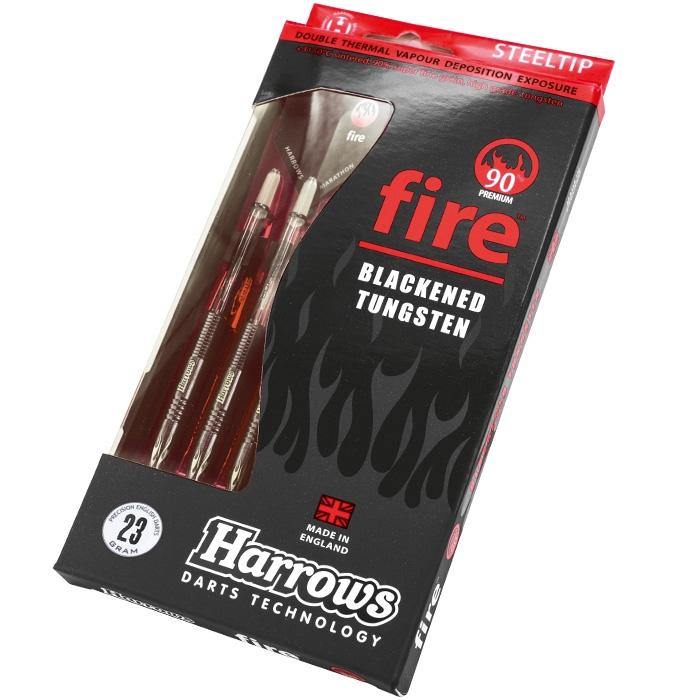 HARROWS rzutka dart FIRE Expert 90% steeltip 23g