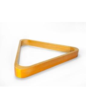 Trójkąt bilardowy drewniany naturalny 57,2mm