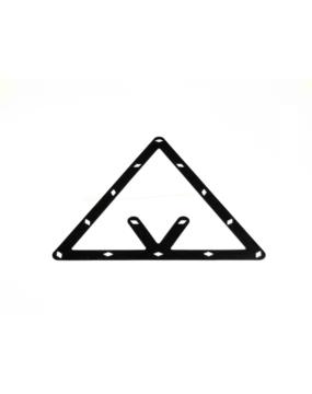 Szablon trójkatny do ustawiania bil 8,9,10
