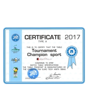 Stół Bilardowy Tournament Champion Sport 9ft Black
