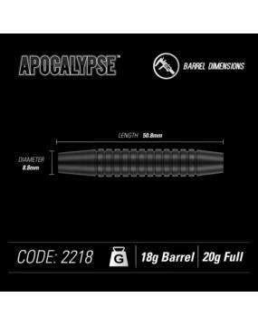 WINMAU rzutka dart APOCALYPSE softip 20gr