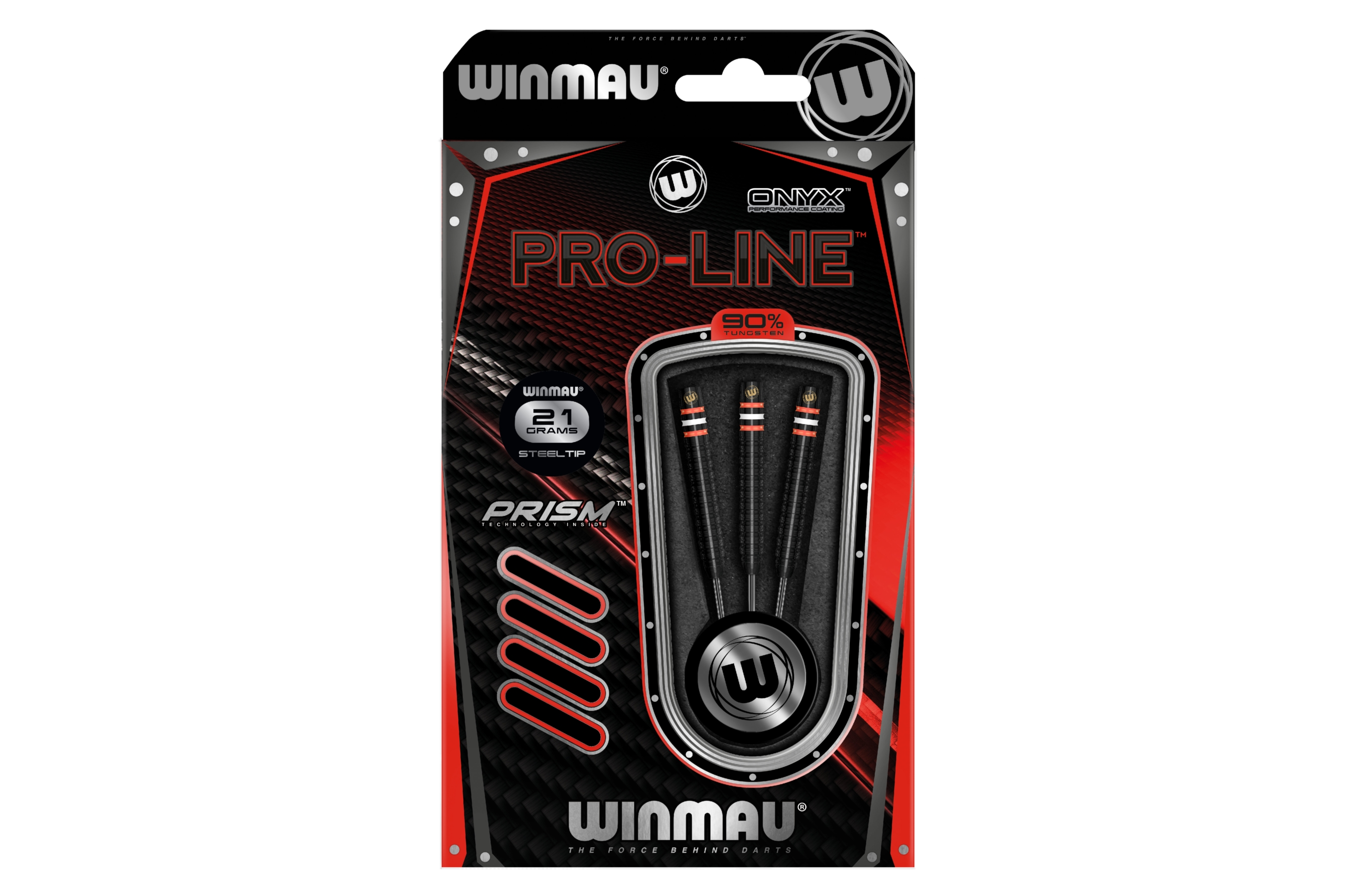 WINMAU rzutka dart PRO-LINE Onyx 90% steeltip