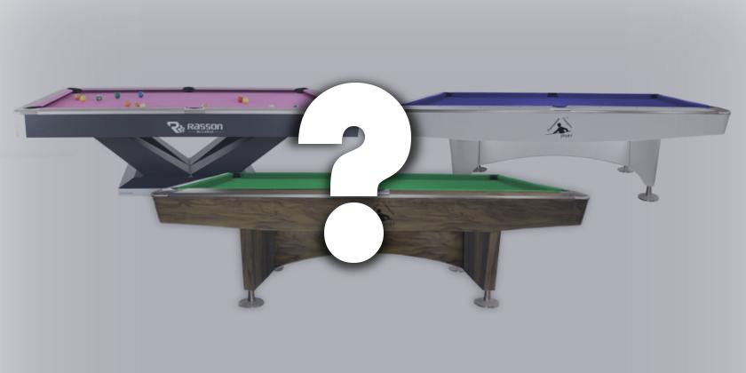 Jaki stół bilardowy wybrać?