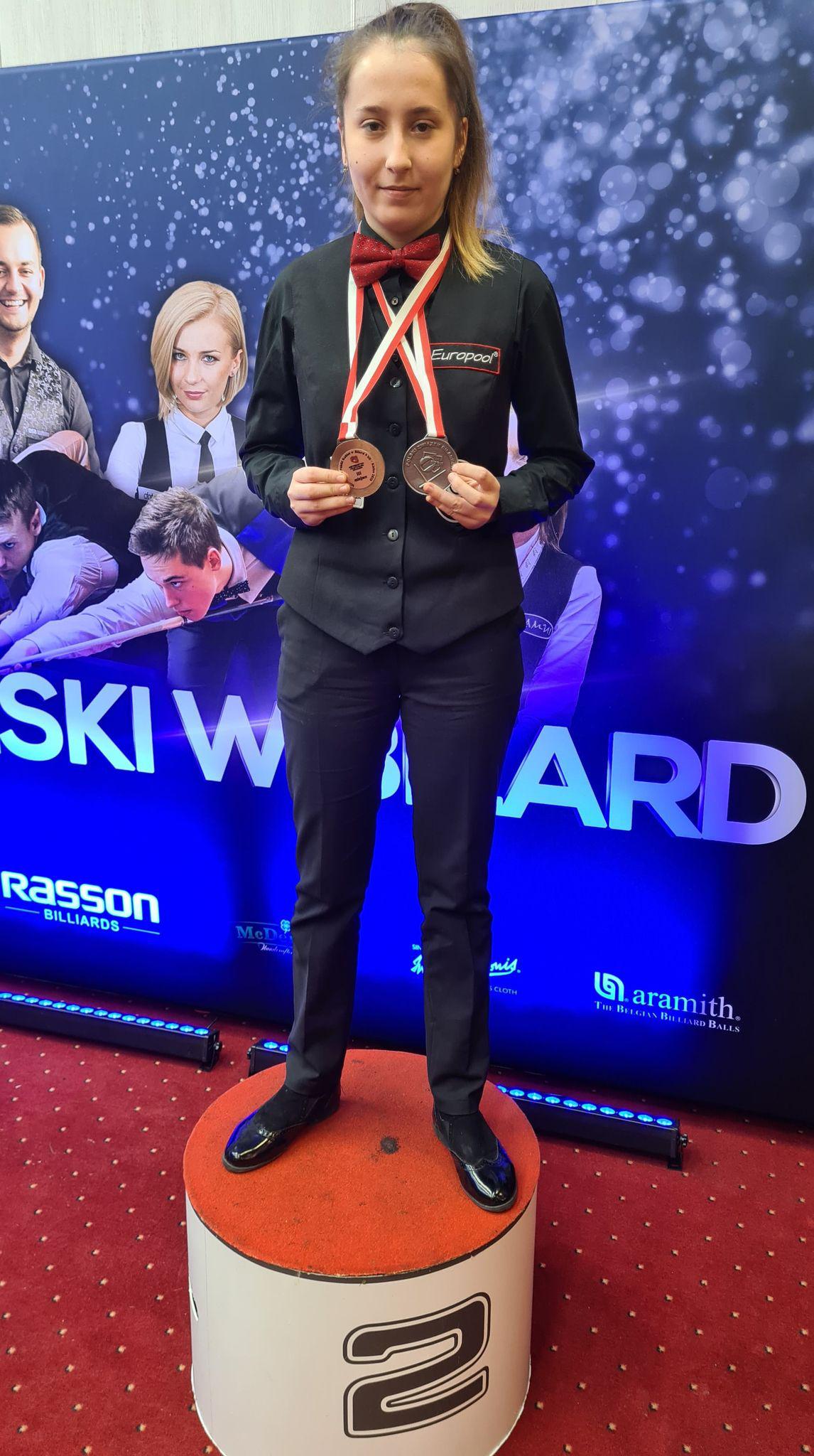 Dominika Pawełczyk z dwoma medalami Mistrzostw Polski 2020 !