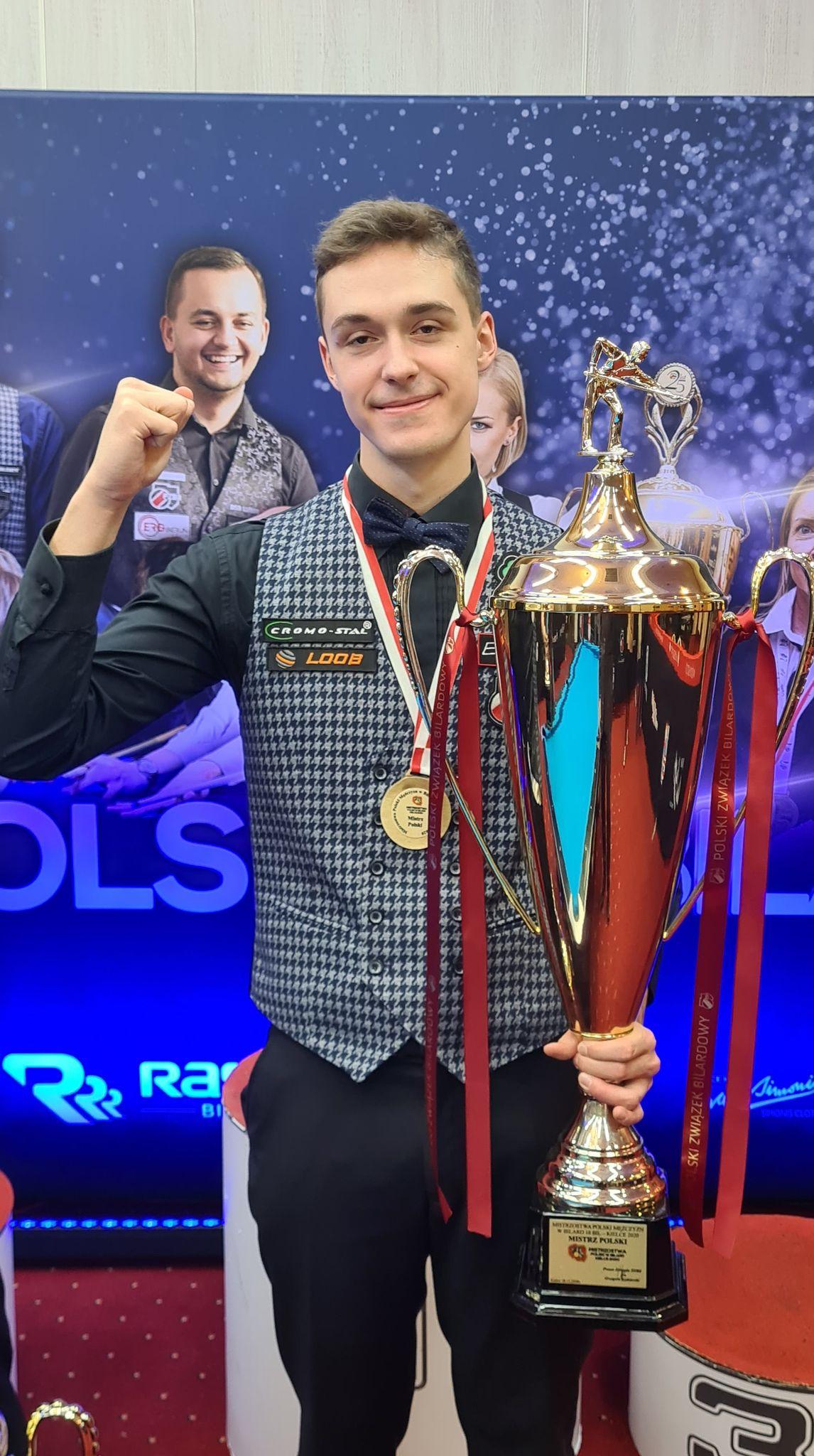 Daniel Macioł - Mistrz Polski w odmianę 10 bil !